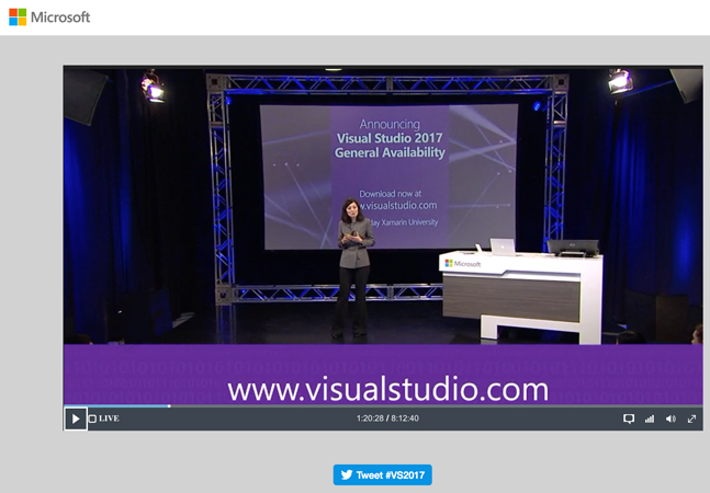 Yes, Finally, Visual Studio 2017 Now Available -- Visual