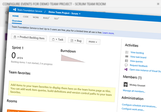 Team Foundation Server Team Rooms -- Visual Studio Magazine