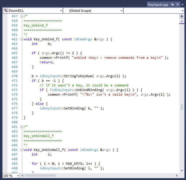 Semantic Highlighting Is Turned On By Default For C In Visual Studio