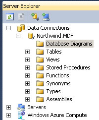 ...while it shows up and works in VS10 with SQL Server 2008 ...