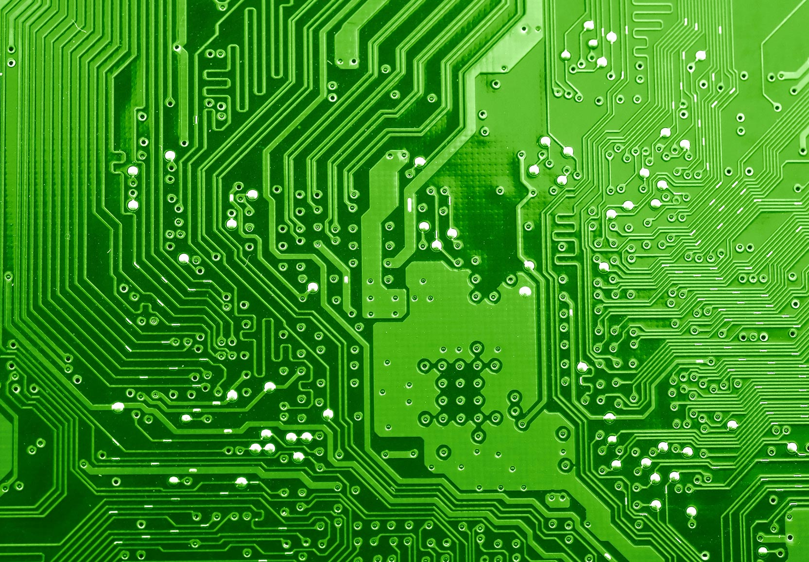 Green Motherboard Graphic