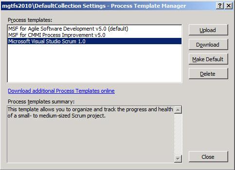 Inside TFS: Installing the Microsoft Scrum Process Template ...