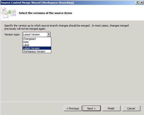 Inside TFS: Branch By Merge in TFS 2010 -- Visual Studio