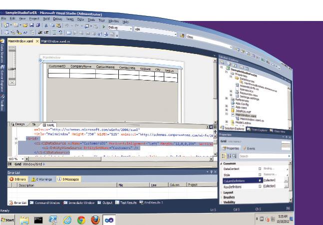 how to add entity framework in visual studio 2013