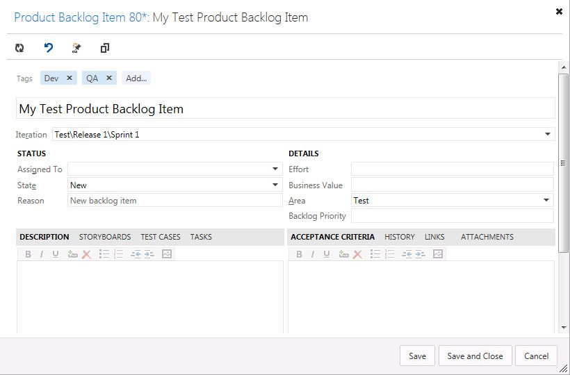 Work Item Tagging In TFS -- Visual Studio Magazine