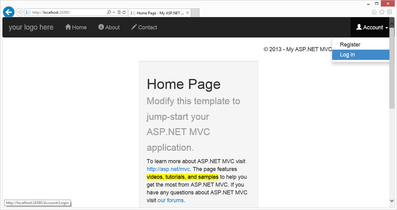 Snazz Up Your MVC Apps with Twitter Bootstrap: A Get-Started