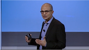 Satya Nadella at today's event