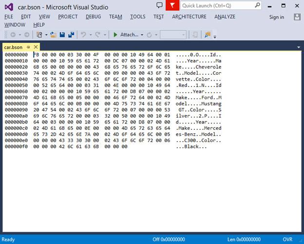 implementing binary json in asp net web api 2 1 visual studio