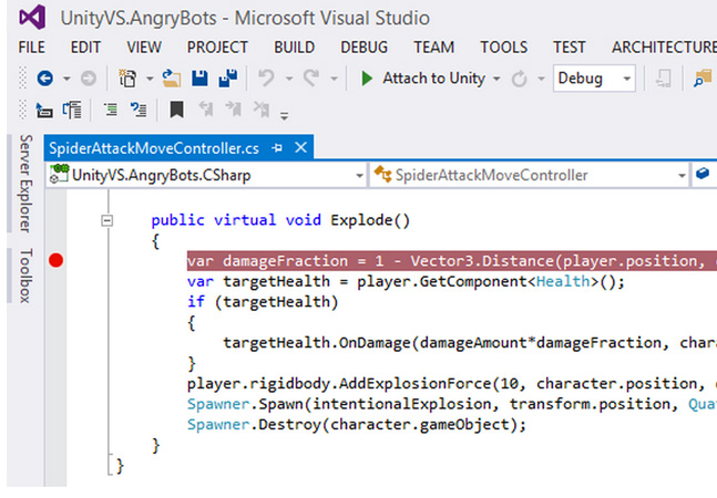 SyntaxTree Buy Results in Visual Studio Tools for Unity 1 9