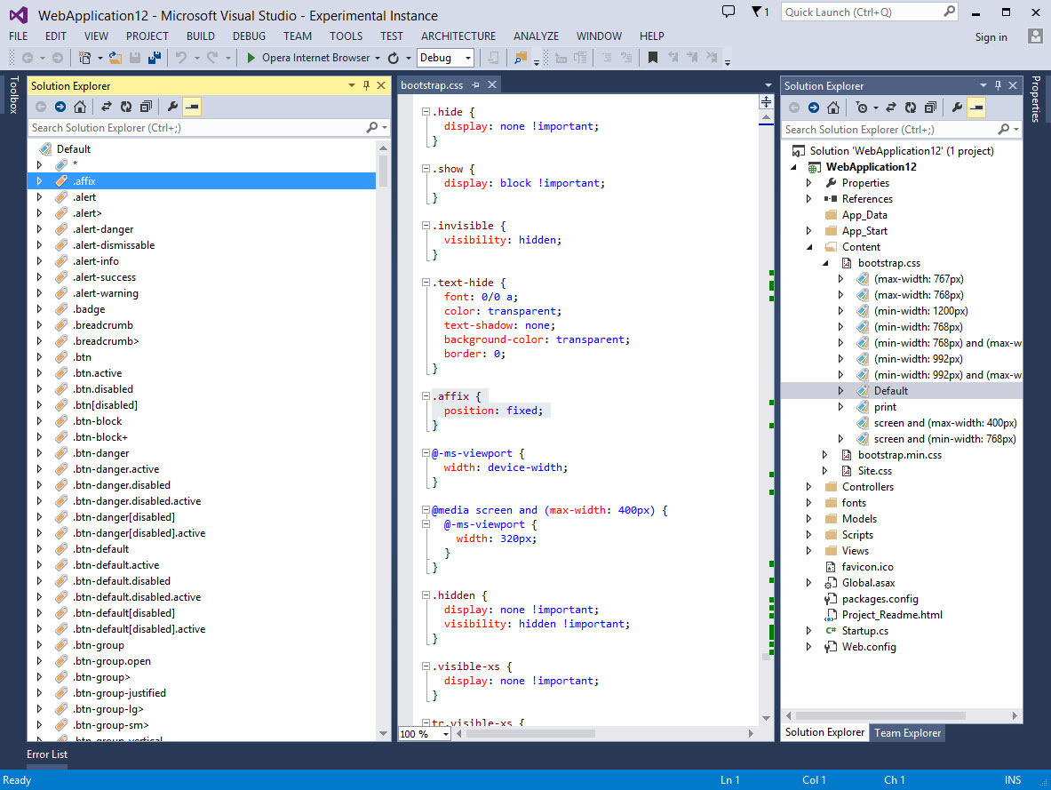 14 Tools and Extensions for Web App Development -- Visual Studio