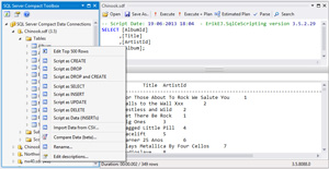 Sql server data tools for visual studio 2010 express