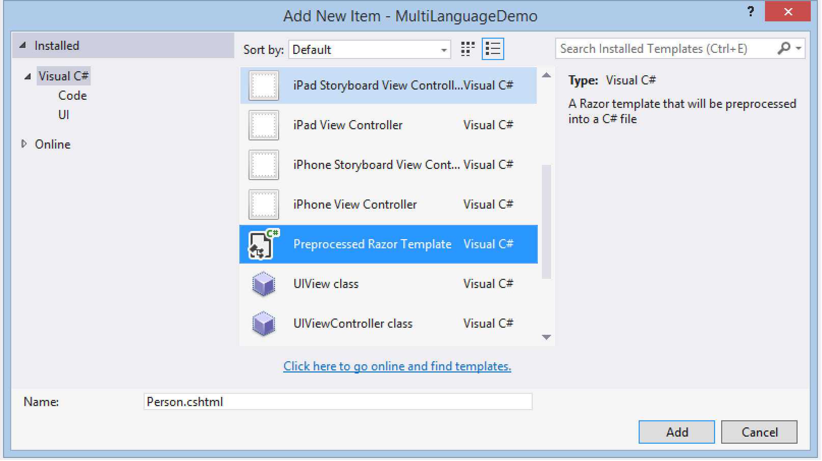 Polyglot Apps for iOS, Android and Beyond -- Visual Studio