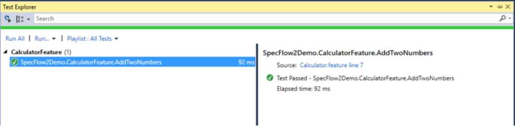 SpecFlow 2, Part Two: Gherkin Steps -- Visual Studio Magazine
