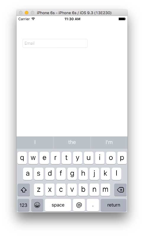 How To Programmatically Customize iOS Keyboards with C# -- Visual