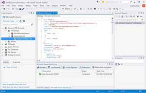 Editing DocumentDB Resources in Visual Studio with Cloud Explorer