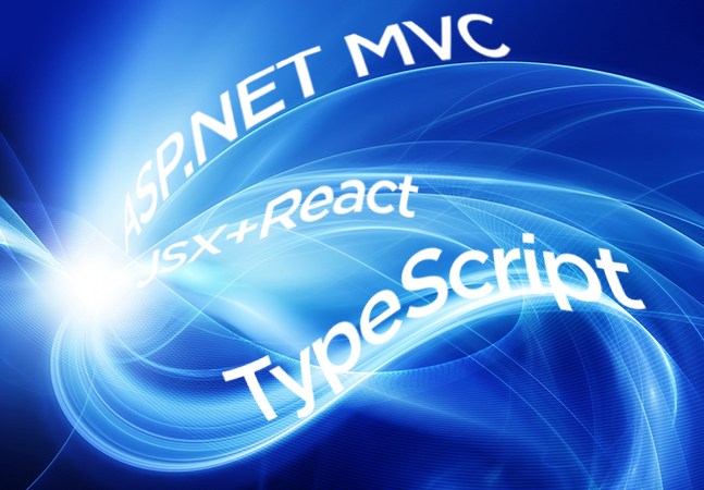 Processing Data with ASP NET MVC, JSX+React and TypeScript -- Visual