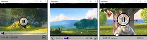 Different Media Player Styles