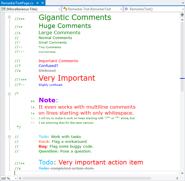 Doing Visual Studio and  NET Code Documentation Right -- Visual
