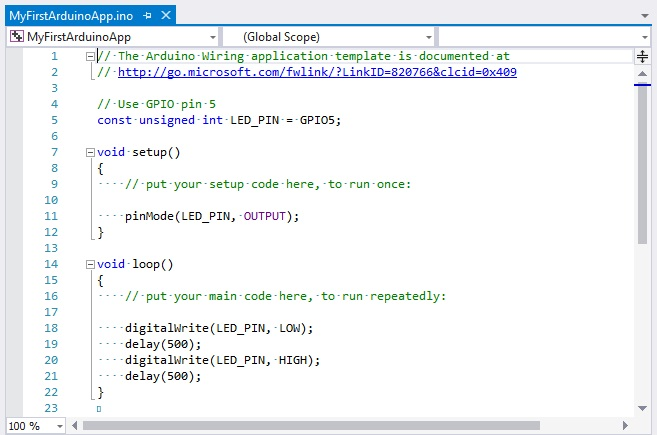 Programming the Internet of Things with Visual Studio