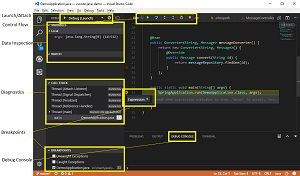 Using the VS Code Java Debugger