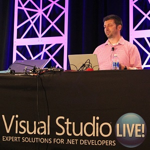 Mark Stafford at Visual Studio Live!