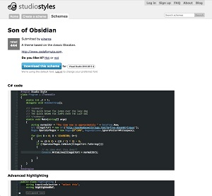Studio Styles Lets You Download Visual Studio Themes from Other Users