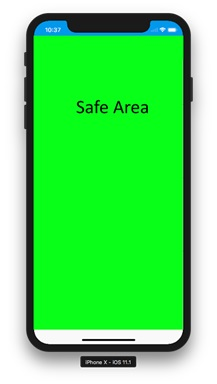 . Safe Areas Show Where to Safely Place Content