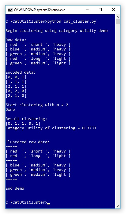 Python Clustering