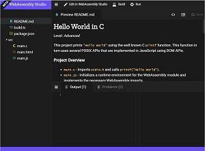WebAssembly Studio Beta