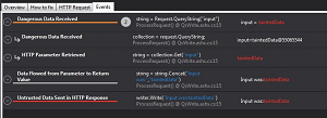 Contrast Security Analysis Results Inside Visual Studio