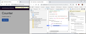 Debugging Blazor in the Browser