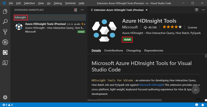 Visual Studio Code Gets HDInsight Tools for Big Data Analytics