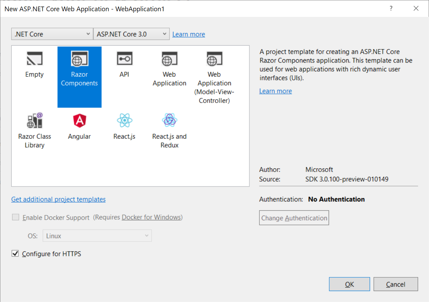 Second Previews Ship for  NET Core 3, ASP NET Core 3 -- Visual