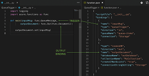 Triggers and Bindings with Python in Azure Functions