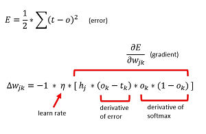 Figure 4: The RBF Weight Update Equation
