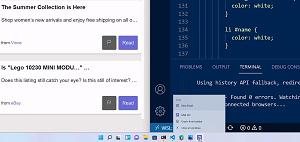 Raccourcis d'applications Web progressifs intégrés à Windows