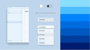 Utilisation de l'interface utilisateur avec une géométrie arrondie, exploitation des micro-interactions et application d'une palette de couleurs actualisée avec de nouveaux matériaux