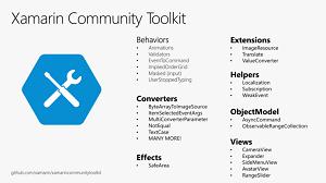 Xamarin Community Toolkit