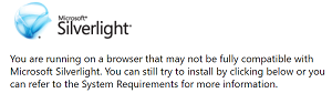 No Silverlight for You
