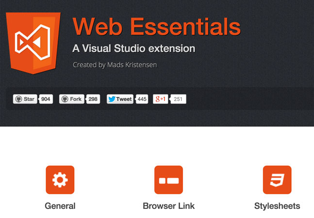 Save Web Development Time with Web Essentials -- Visual Studio ...